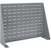 Louvered Bench Rack, Gray