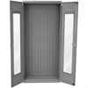 Akro-Mils Quick View Bin Cabinet, 36x18x78 No Bins, Gray