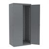 Akro-Mils AkroBin Cabinet 24D, Steel Doors, Gray, Gray