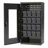 Akro-Mils Quick-View Door Mini Cabinet 16 Drawers, Gray