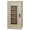 Quick-View Door Mini Cabinet No Drawers, Putty
