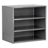 Akro-Mils Modular Cabinet, 18x11x16, no Drawers, Gray