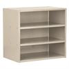 Akro-Mils Modular Cabinet, no Drawers, Putty, Gray