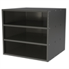 Akro-Mils Modular Cabinet, 18x17x16, no Drawers, Gray