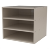 Modular Cabinet, no Drawers, Putty, Putty