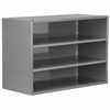 Modular Cabinet, 23x11x16, no Drawers, Gray