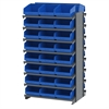 12 2-Sided Pick Rack, 48 ShelfMax, Gray/Blue
