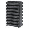 12 2-Sided Pick Rack, 48 AkroDrawers, Gray