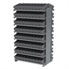 Akro-Mils 12 2-Sided Pick Rack, 144 AkroDrawers, Gray