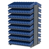 18 2-Sided Pick Rack, 144 AkroDrawers, Gray/Blue