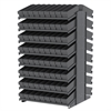 Akro-Mils 18 2-Sided Pick Rack, 144 AkroDrawers, Gray