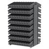 18 2-Sided Pick Rack, 144 AkroDrawers, Gray