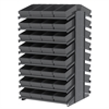 18 2-Sided Pick Rack, 64 AkroDrawers, Gray