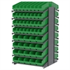 18 2-Sided Pick Rack, 104 ShelfMax, Gray/Green
