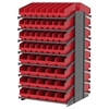 18 2-Sided Pick Rack, 104 ShelfMax, Gray/Red