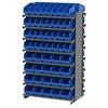 12 2-Sided Pick Rack, 80 ShelfMax, Gray/Blue