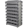 Akro-Mils 12 2-Sided Pick Rack, 100 AkroDrawers, Gray