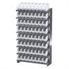 Akro-Mils 12 1-Sided Pick Rack, 64ShelfMax, Gray/White