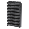 Akro-Mils 12 1-Sided Pick Rack, 24 AkroDrawers, Gray