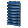 12 1-Sided Pick Rack, 72 AkroDrawers, Gray/Blue