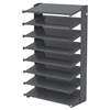 Akro-Mils 18 1-Sided Pick Rack, No Bins, Gray