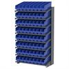 18 1-Sided Pick Rack, 64 ShelfMax, Gray/Blue