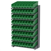 18 1-Sided Pick Rack, 64 ShelfMax, Gray/Green