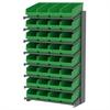 Akro-Mils 18 1-Sided Pick Rack, 32 ShelfMax, Gray/Green