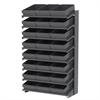 Akro-Mils 18 1-Sided Pick Rack, 24 AkroDrawers, Gray