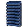 18 1-Sided Pick Rack, 72 AkroDrawers, Gray/Blue