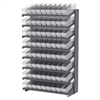 Akro-Mils 18 1-Sided Pick Rack, 72 AkroDrawers, Gray/Clear