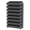 Akro-Mils 18 1-Sided Pick Rack, 72 AkroDrawers, Gray