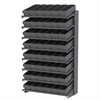 18 1-Sided Pick Rack, 48 AkroDrawers, Gray