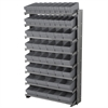 12 1-SidedPick Rack, 50 AkroDrawers, Gray