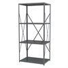 Akro-Mils Steel Shelving Kit, 24x36x79, No Bins, Gray