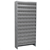 Steel Shelving Kit, 78 AkroDrawers, Gray
