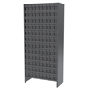 Steel Shelving Kit, 36 AkroDrawers, Gray