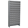 Akro-Mils Steel Shelving Kit, 60 AkroDrawers, Gray