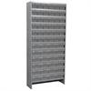 Steel Shelving Kit, 60 AkroDrawers, Gray