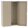 HD Steel Bin Cabinets, Lvd Panels, Beige