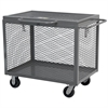 Box Truck, Expanded Metal w/ Lid, Gray