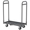 Akro-Mils Super-Size AkroBin Cart, 2 Handles, Gray
