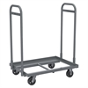 Super-Size AkroBin Cart, 2 Handles, Gray