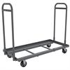 Super-Size AkroBin Cart, 2 Handles, Gray