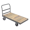 Akro-Mils Super HD Plat Truck, Wood, 30x60, Gray