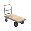 Akro-Mils Super HD Plat Truck, Wood, 24x48, Gray