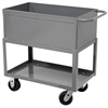 Tray Service Cart, 48L 24W, Gray, Gray