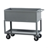 Tray Service Cart, 60L 30W, Gray, Gray