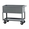 Tray Service Cart, 36L 24W, Gray, Gray