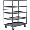 Akro-Mils 5-Shelf Cart Lips UP, 30x48, Gray